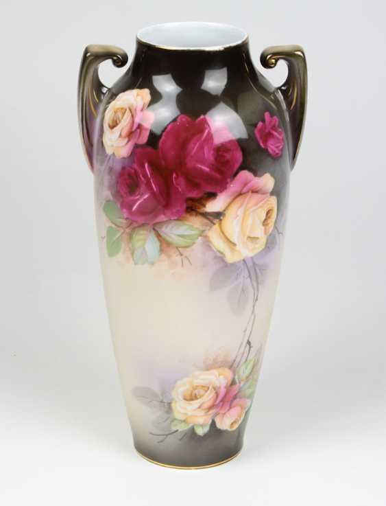 Art Nouveau amphora vase around 1910 - photo 1