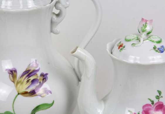 Meissen Coffee Service *Flower 1* - photo 2