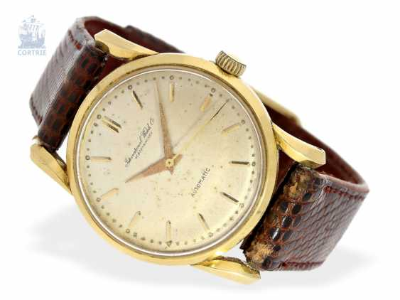 Watch: rare vintage mens watch, IWC Automatic Monocoque with unusual lugs, approx. 1950 - photo 1