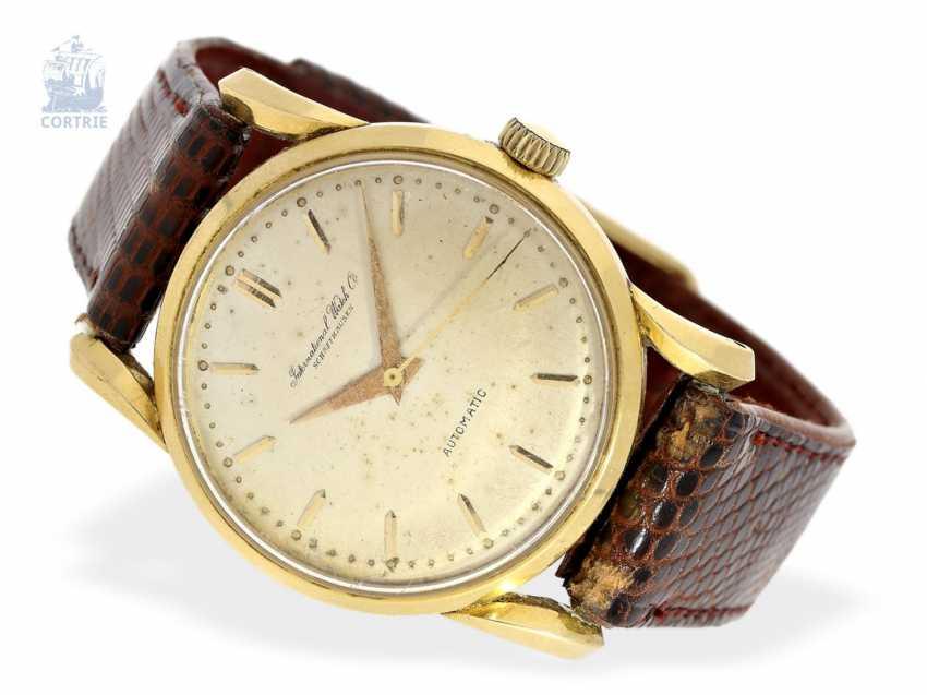 Наручные часы  редкие винтажные мужские часы, IWC Automatic монокок с  необычными группа пазов, 401f1b87422