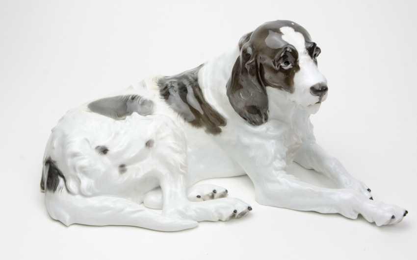 Rosenthal Dog Figurine Design Obermaier - photo 1