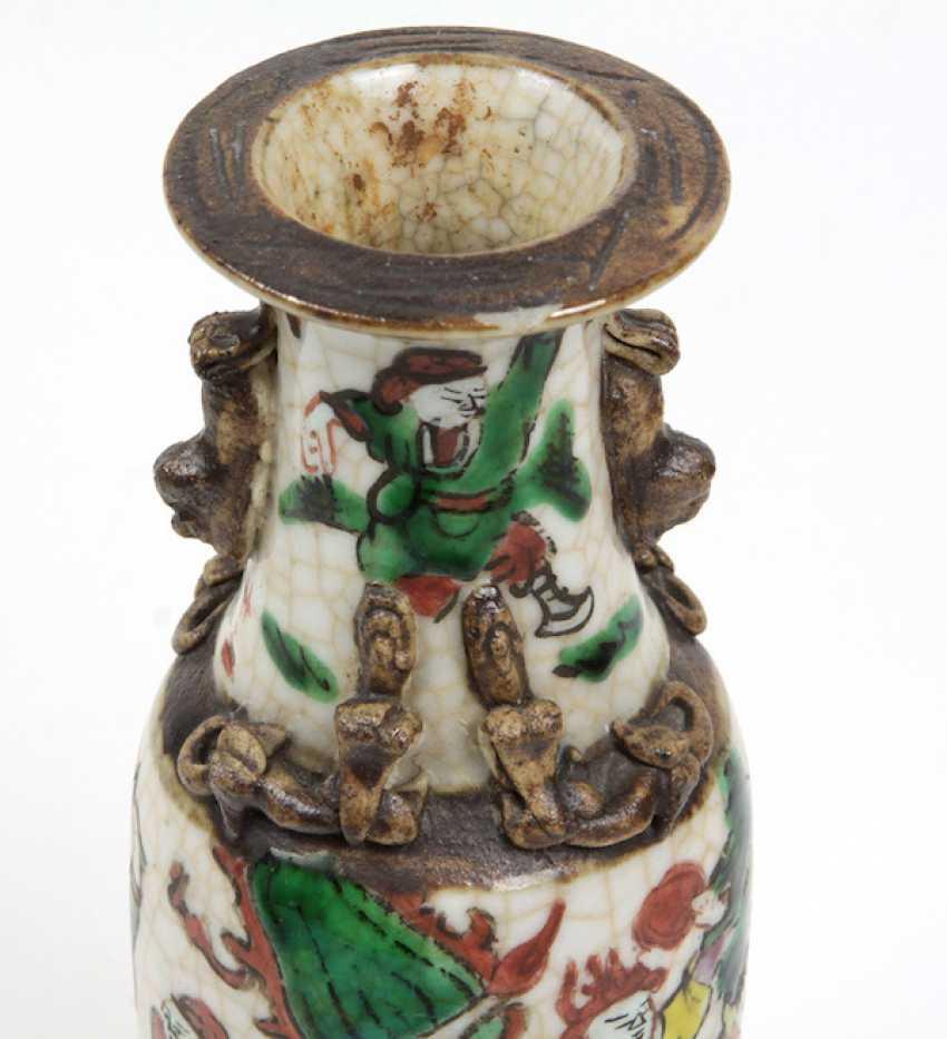 antike asiatische Reliefvase - photo 3