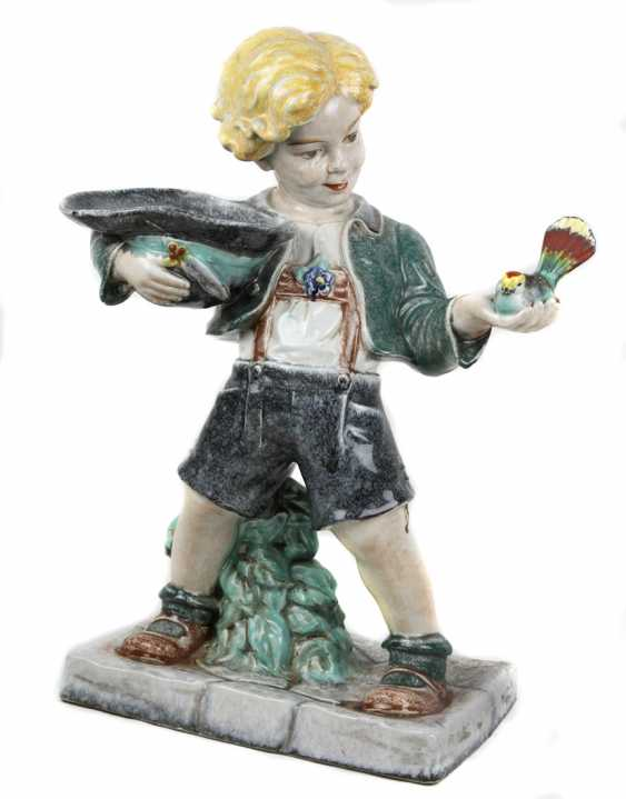 great Viennese ceramic figure of 1930s - photo 1