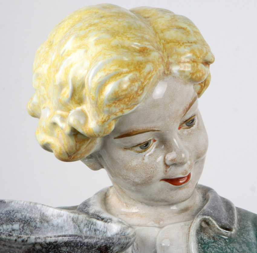 great Viennese ceramic figure of 1930s - photo 2
