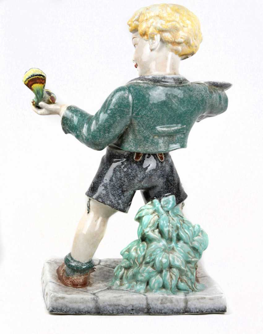 great Viennese ceramic figure of 1930s - photo 3