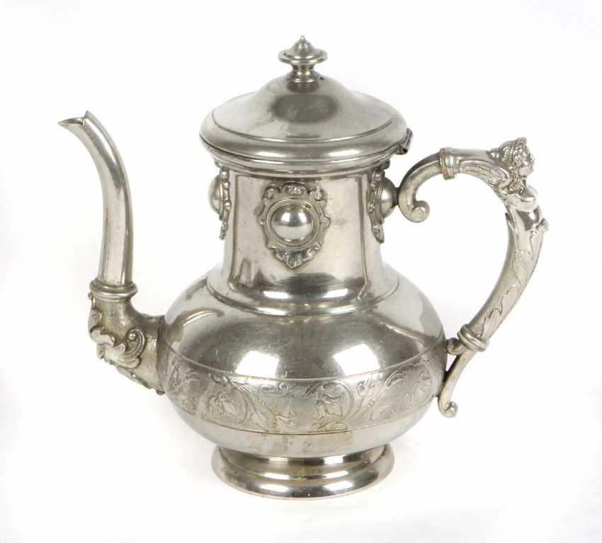 Historicism coffee pot 1900's - photo 1