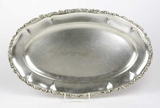 large silver tray - photo 1