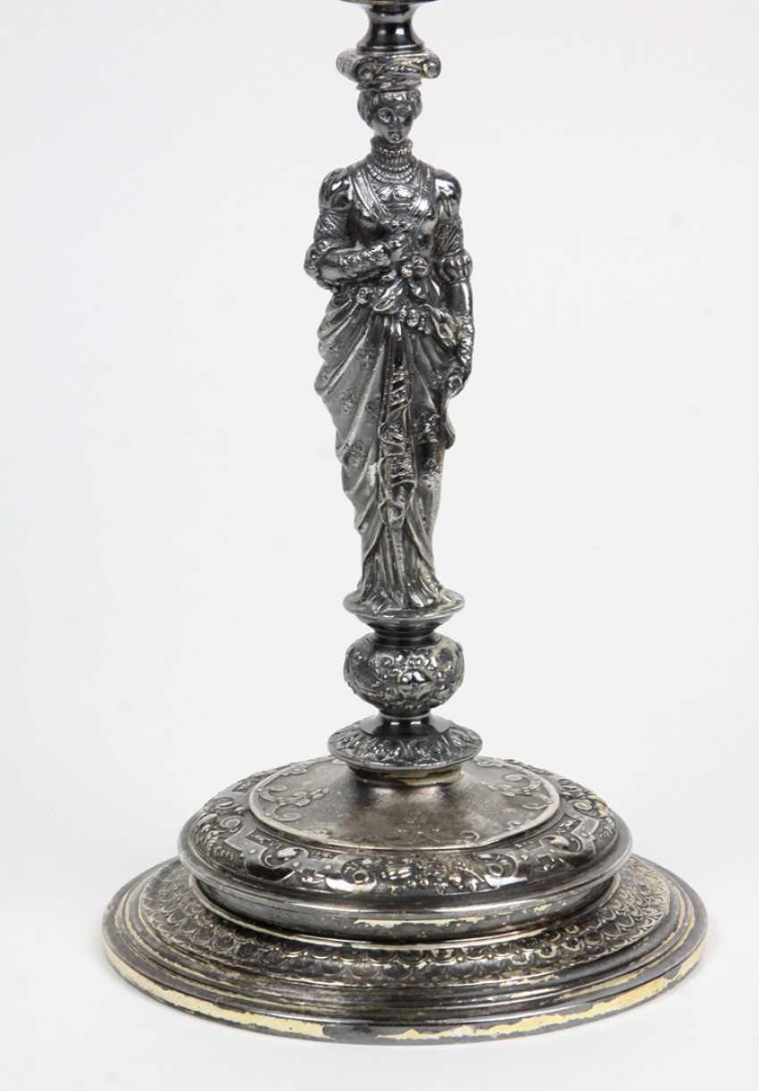 WMF figure chandelier circa 1890 - photo 3