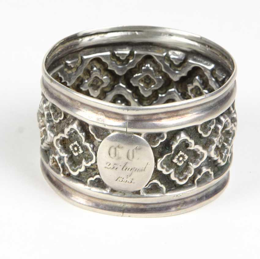 Napkin ring of 1853 - photo 1