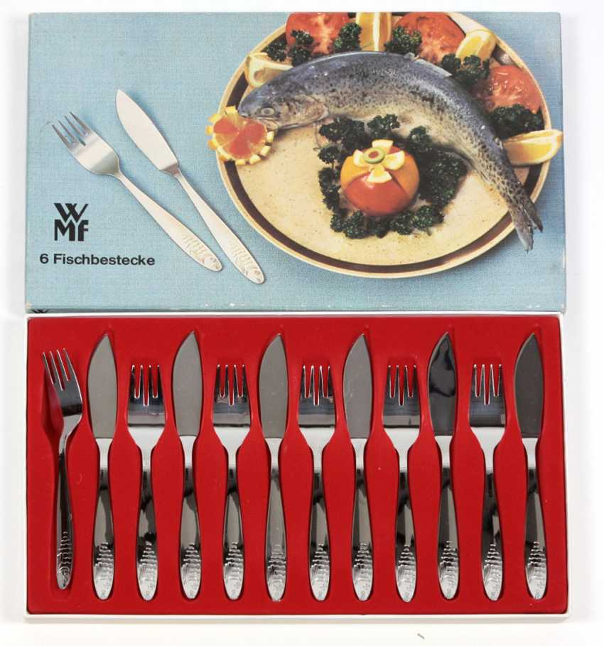 WMF fish Cutlery for 6 persons - photo 1