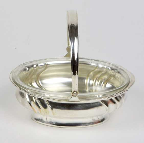 Handle Bowl Silver 800 - photo 1