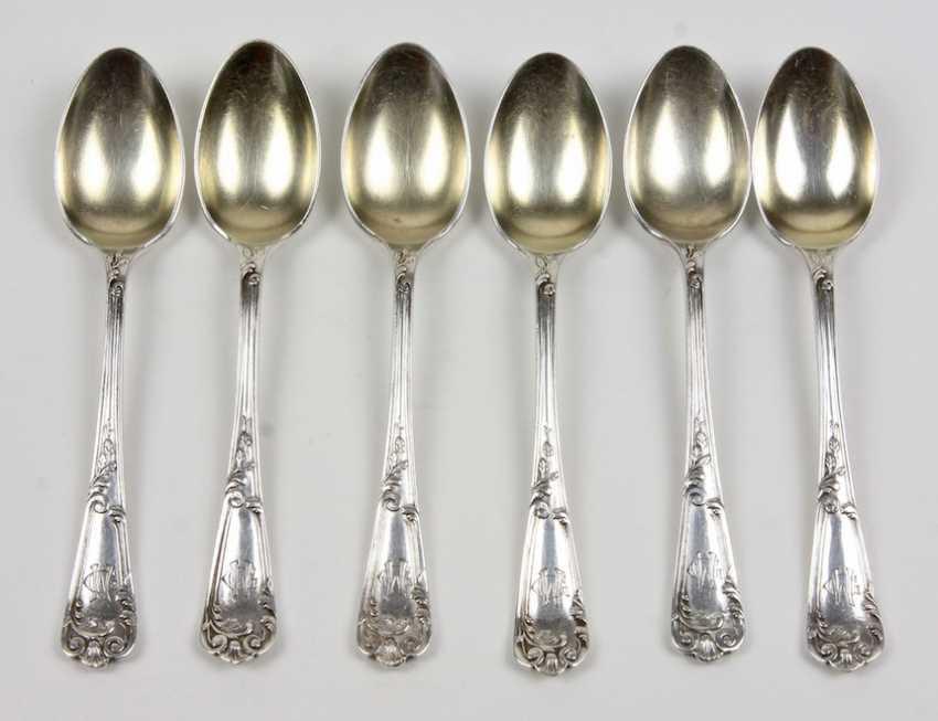 Set Of Mocha Spoons - photo 1