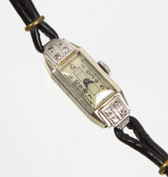 Art Deco Brillantuhr -Weissgold585 - photo 1