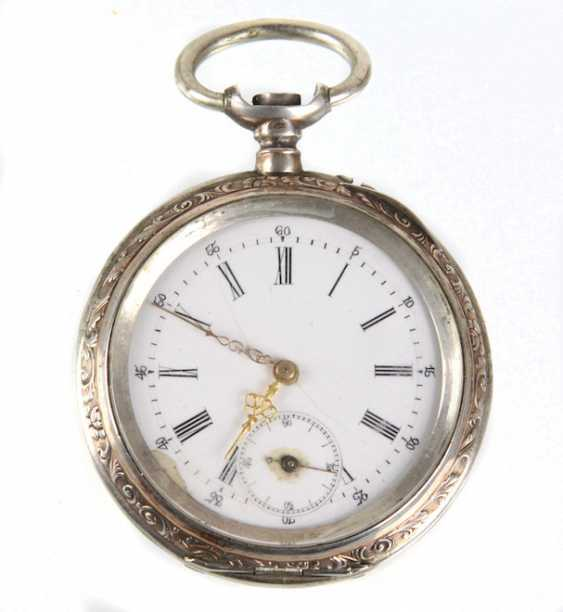 Mens Pocket Watch Silver 800 - photo 1