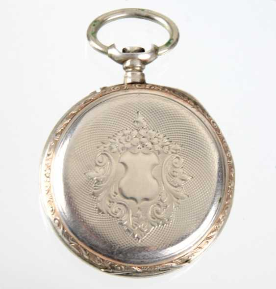 Mens Pocket Watch Silver 800 - photo 2