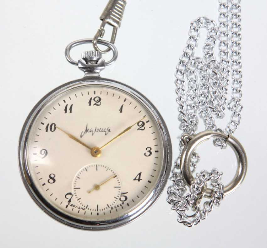 Men's pocket watch *USSR-Soviet-Russian* with chain - photo 1