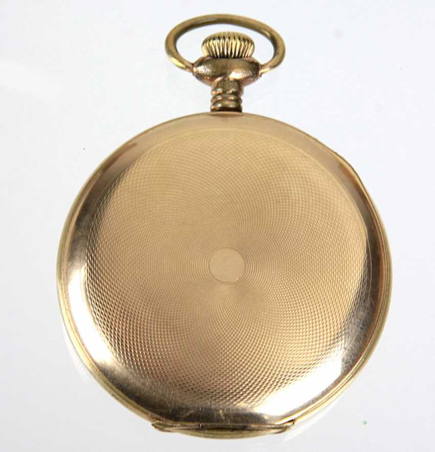 Savonette Pocket Watch, *Waltham* - Gold Double - photo 3