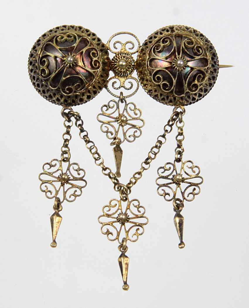 Victorian Brooch - Silver - photo 1