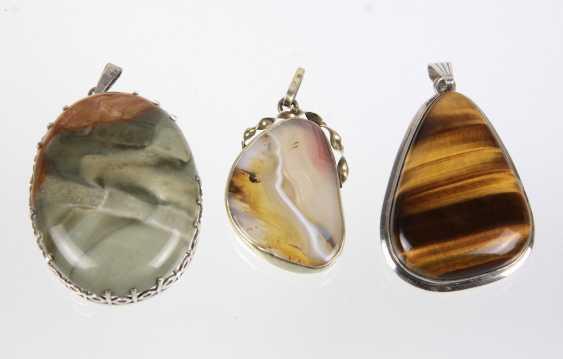 3 Gemstone Pendant - photo 1