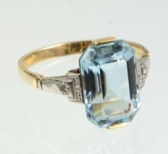 Art Deco Ring - Gelbgold 558 - photo 1