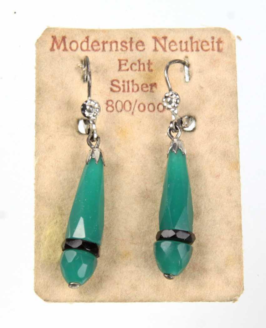 Art Deco earrings 1930s - photo 1