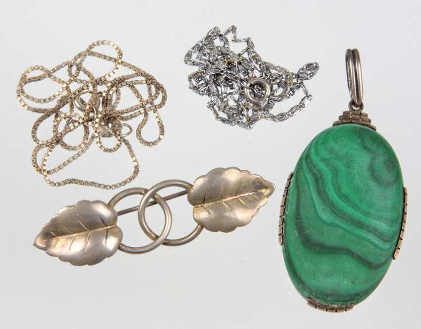 Items silver jewelry and other - photo 1
