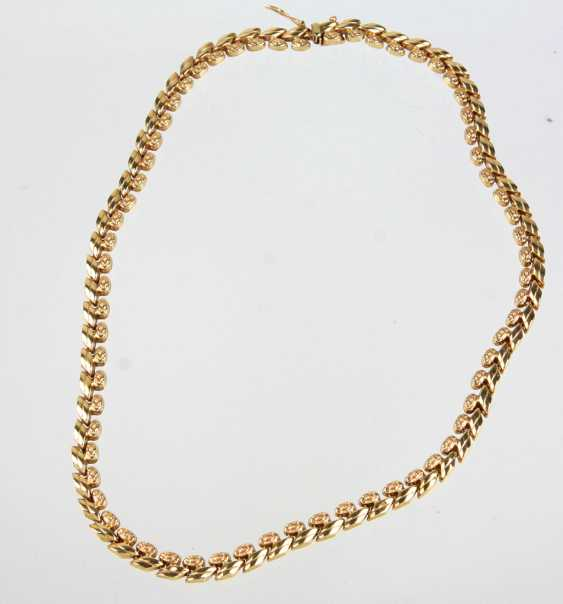 Gold Collier - Gelbgold 585 - photo 1
