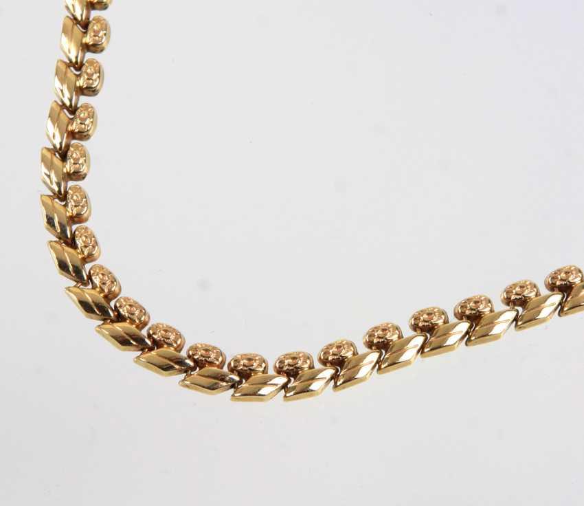 Gold Collier - Gelbgold 585 - photo 2