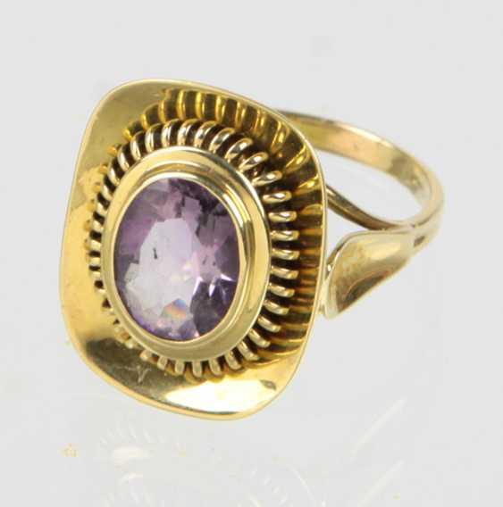 Amethyst Ring - Gelbgold 585 - photo 1