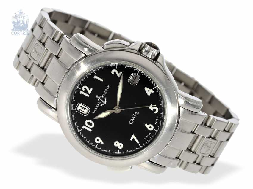 c558d65d24406 Watch: sporty men's watch, Ulysse Nardin San Marco Automatic GMT Ref.203-