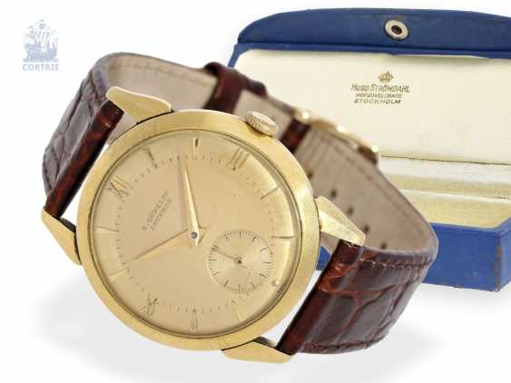 Auction: Watch: early, very rare men's wrist watch, with