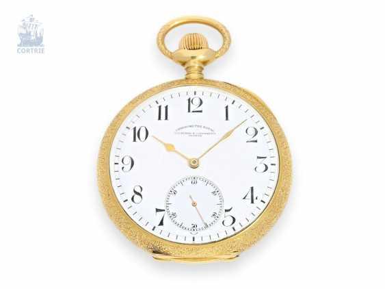 Pocket watch: very rare Pocket chronometer by Vacheron & Constantin Chronometer Royal No. 344763 with special housing, CA. 1912 - photo 1