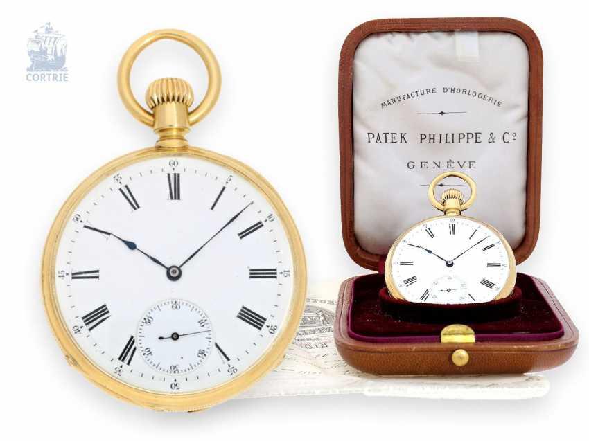 Pocket watch: Patek Philippe Anker chronometer special quality with original box and original certificate, Geneva, 1878 - photo 1