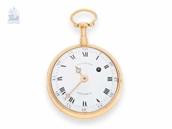 Pocket watch: very fine, original Berthoud Cylinder watch with Repetition, Ferdinand Berthoud Paris No. 1138, CA. 1780 - photo 1