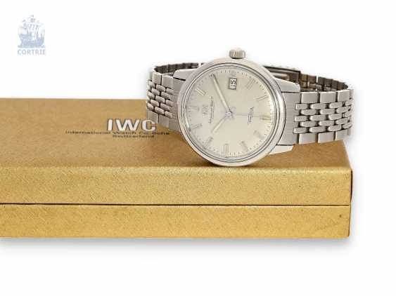 Watch: sought-after collector's watch, IWC Ingenieur Ref.866A with the original IWC/Gay Freres stainless steel bracelet and IWC Box, approx. in 1968 - photo 1