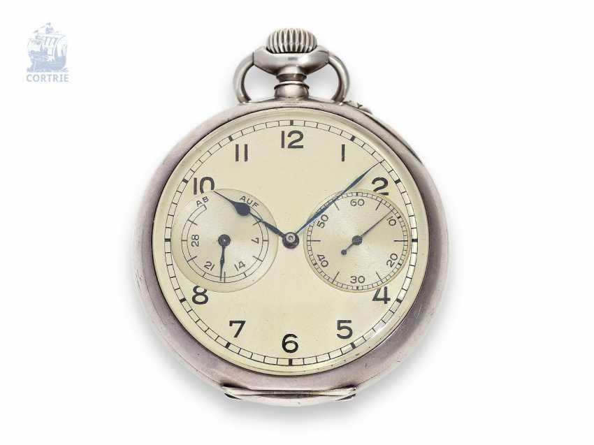 Pocket watch: early, early, early, and thus highly interesting, A. Lange & Söhne Watch of the German Navy. 1941/42 - photo 1