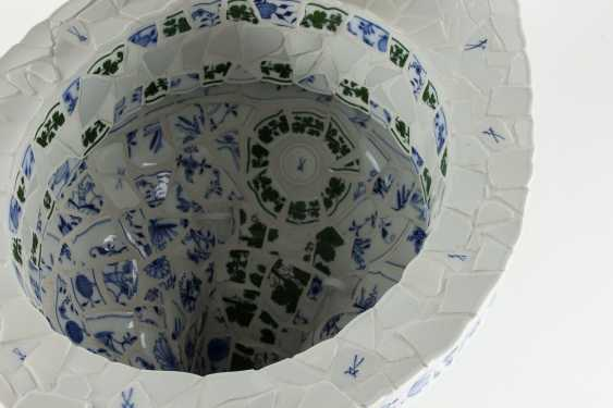 Toilet bowl Meissen porcelain pieces, one of a kind, artist made, one of a kind!!! - photo 9