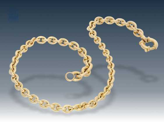 Necklace/Collier: very high-quality and decorative goldsmiths necklace - photo 1
