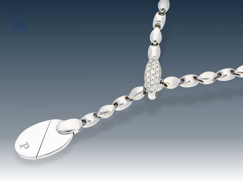 Collier/necklace: new Designer necklace by Piaget, 18K white gold - photo 1