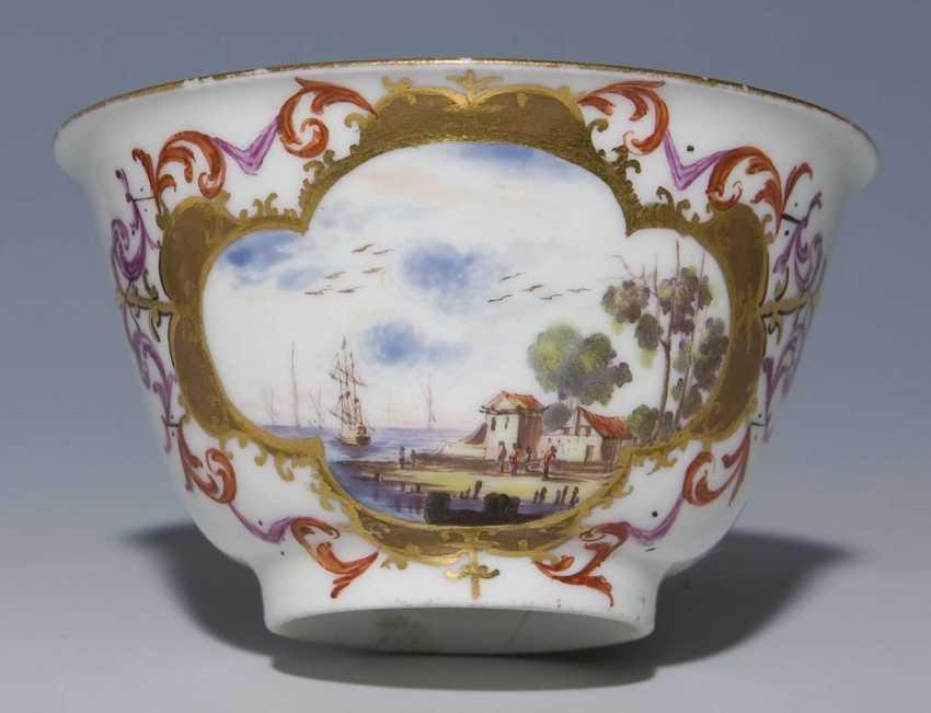 Baroque-Kopp, Saucer. MEISSEN 1725-1735, - photo 2