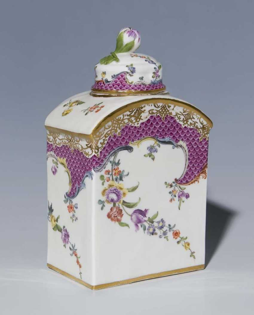 Baroque Caddy. MEISSEN, 1750-1760, - photo 1