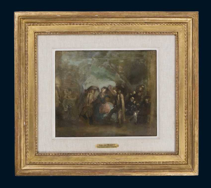 Manet, Edouard attributed. 1832 - Paris- 1883, ibid. - photo 2