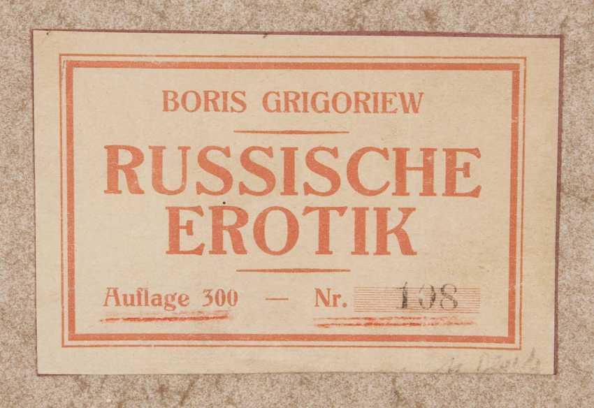 Grigoriew, Boris. 1886 Moskau - 1939 Cagnes-sur-Mer - photo 15