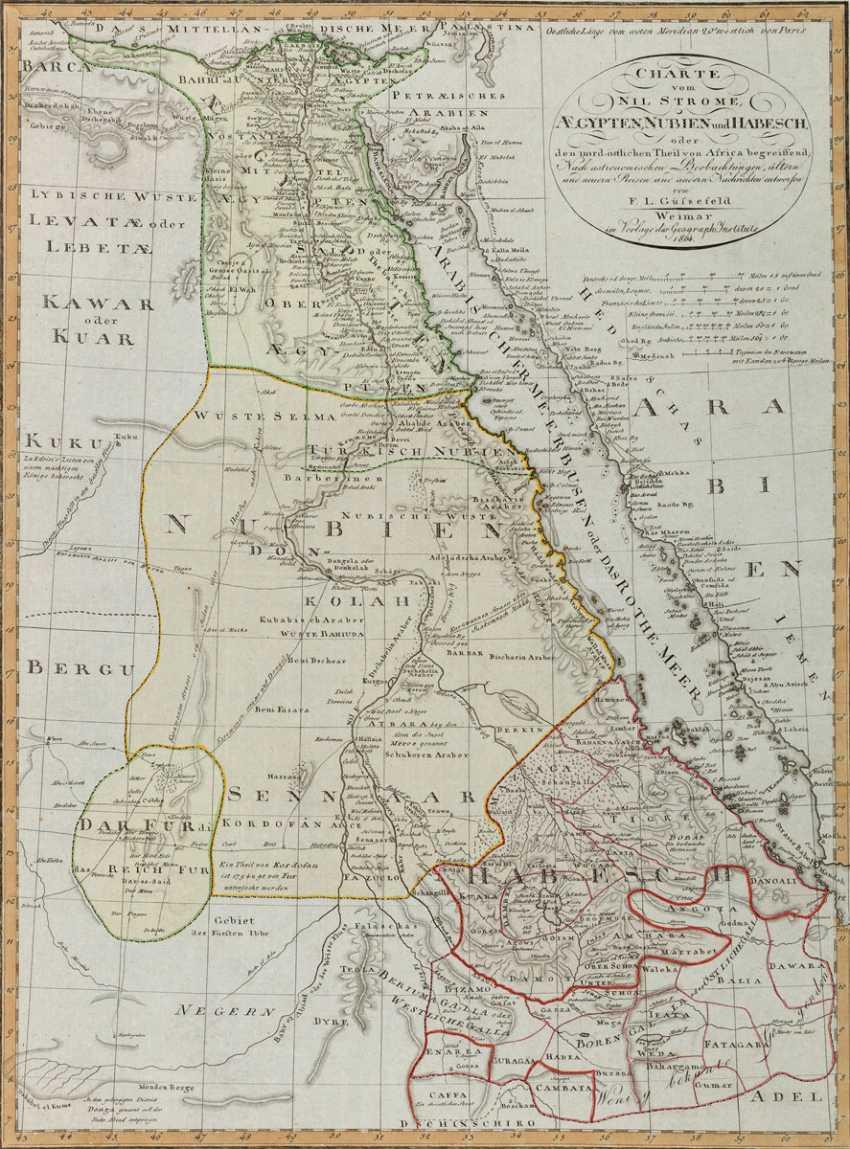 Karte Von ägypten.Los 2009 Karte Von ägypten Aus Dem Katalog Internationale Kunst