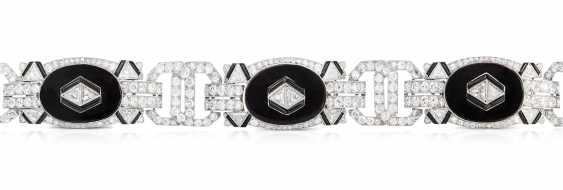 Gattle Diamant-Onyx-Bracelet - photo 1