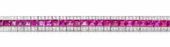Rubin-Diamant-Bracelet - photo 1
