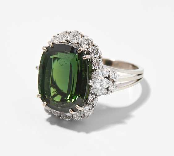 Turmalin-Diamant-Ring - photo 1