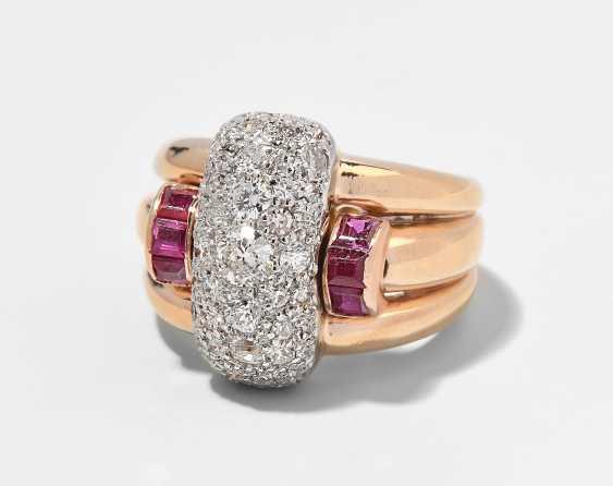 Diamant-Rubin-Ring - photo 1