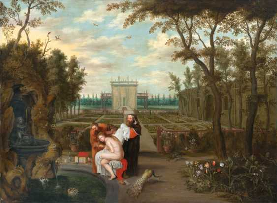 Susannah and the Elders by Jan Brueghel the Younger - photo 1
