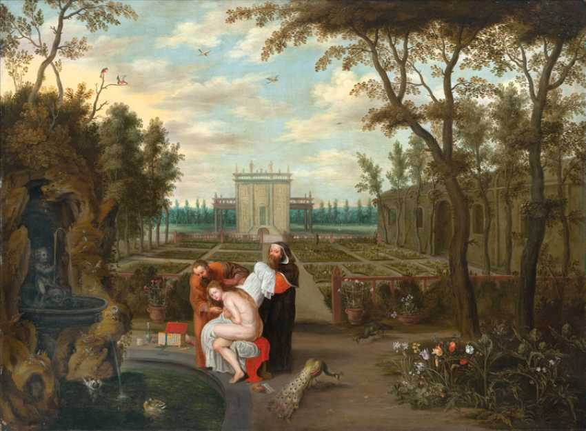 Susannah and the Elders by Jan Brueghel the Younger
